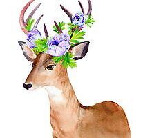Oh, deer! by Elena Belokrinitski