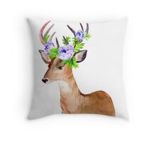 Oh, deer! Throw Pillow