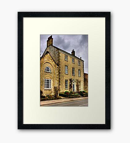 Town House - Helmsley (HDR) Framed Print