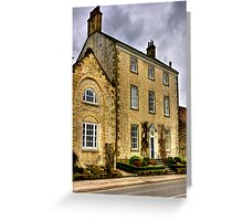 Town House - Helmsley (HDR) Greeting Card