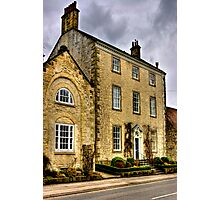 Town House - Helmsley (HDR) Photographic Print
