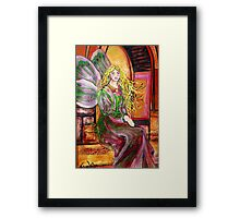 I am peaceful... Framed Print