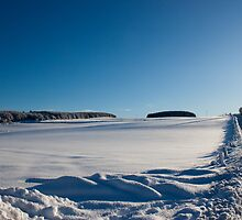 Snowy Aberdeenshire countryside by Copperhobnob