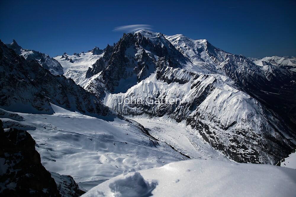 Mont Blanc Panorama by John Gaffen