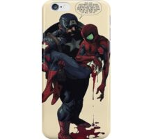 Captain America With Spiderman iPhone Case/Skin