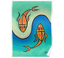 Piscean flow Poster