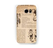 HARRY POTTER - POLYJUICE POTION Samsung Galaxy Case/Skin