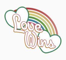 Love WINS #lovewins Kids Clothes