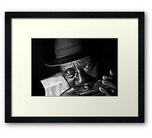 Little Sammy Davis 7.11.04 Framed Print