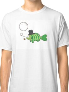 Fish in a hat. Classic T-Shirt