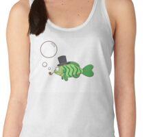 Fish in a hat. Women's Tank Top