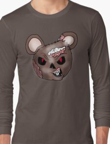 Zombie Mouse Head  Long Sleeve T-Shirt