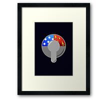 The Truth About Showers Framed Print