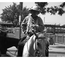 Fort Worth Stock Yards 4 -- Cowboy #2 by policegirl01