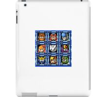 Megaman 5 boss select iPad Case/Skin