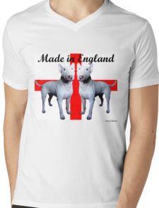 Made in England Mens V-Neck T-Shirt