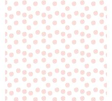 pink donuts with sprinkles  Photographic Print