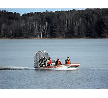 Water Rescue Drill Photographic Print
