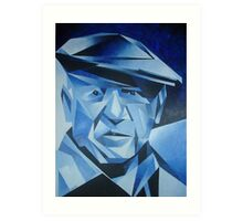 Cubist Portrait of Pablo Picasso: The Blue Period Art Print