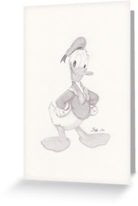 Donald Duck 01 by jayellbee