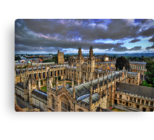 All Souls College, Oxford University Canvas Print