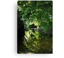 Ravensbourne Reflections Canvas Print