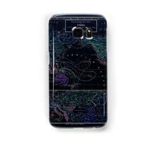 Atlas zu Alex V Humbolt's Cosmos 1851 0173 Ethnographic Dispersion of the World Inverted Samsung Galaxy Case/Skin