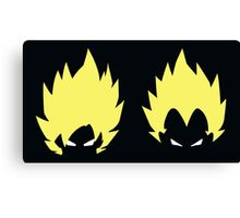 goku & vegeta ssj Canvas Print
