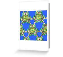 ( QANIT )  ERIC WHITEMAN ART  Greeting Card