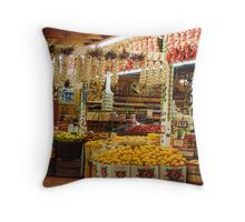 """Produce Lovers Paradise"" Throw Pillow"