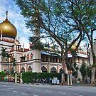 Singapore, Sultan Mosque by Adri  Padmos