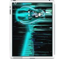 Hastume Miku Chibi+equalizer iPad Case/Skin