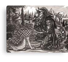 War Dog Canvas Print