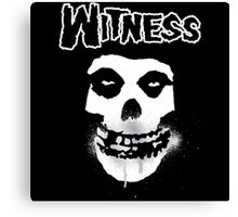 WITNESS Canvas Print