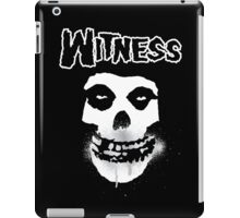 WITNESS iPad Case/Skin