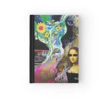 Visual text Hardcover Journal
