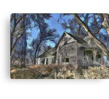 Abandoned House - Ohio Canvas Print