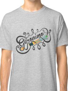 DOCTOR WHO GERONIMO BLACK Classic T-Shirt