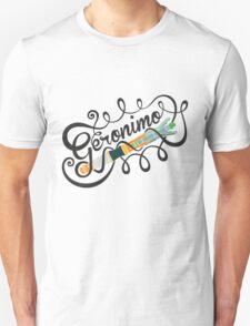 DOCTOR WHO GERONIMO BLACK T-Shirt
