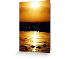 HARMONY ATMOSPHERE Greeting Card