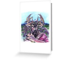 Lavendeer Greeting Card