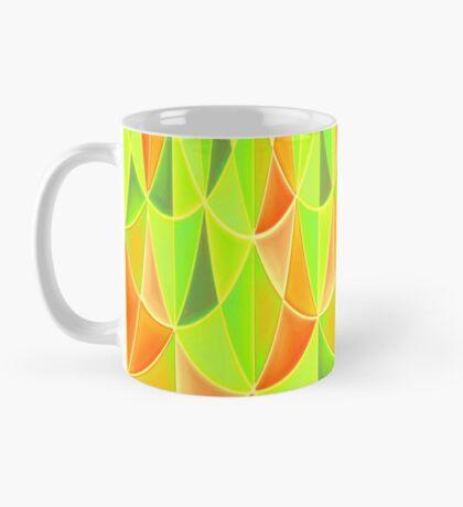 Citrus Geometric Pattern Mug