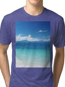 Sandy shores Tri-blend T-Shirt