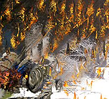 December 21, 2012...The Fire Storm by wiscbackroadz