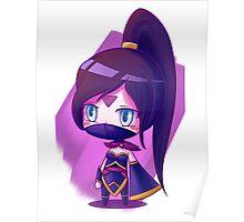 Lanaya Templar Assassin (chibi) super kawai version Poster