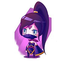 Lanaya Templar Assassin (chibi) super kawai version Photographic Print