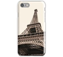 Eiffel Tower Paris, France. iPhone Case/Skin