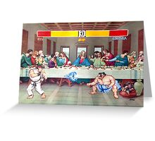 Dinner Theatre Greeting Card