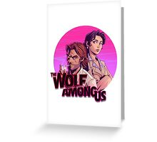 the wolf among us Greeting Card