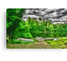 Cincinnati Nature Center Lake, Cincinnati Ohio Canvas Print